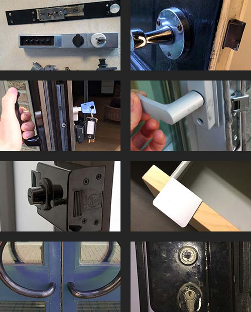 Locksmith In Action